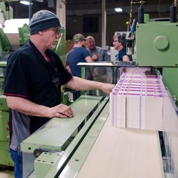 Man working production